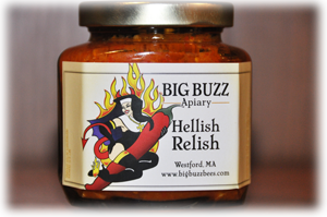 label of hellish relish